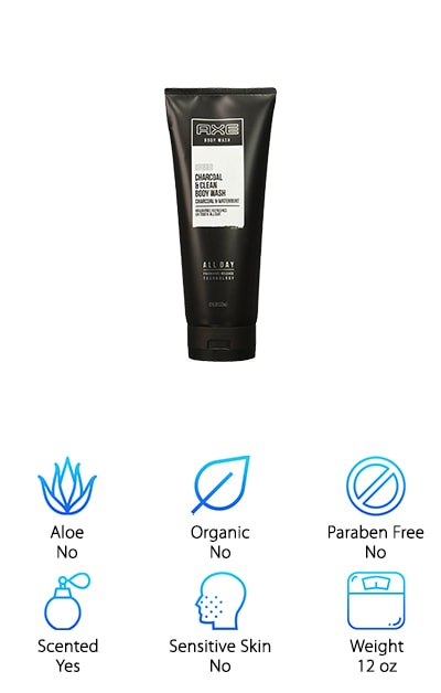 AXE Charcoal Body Wash