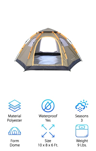 Wnnideo Pop Up Tent