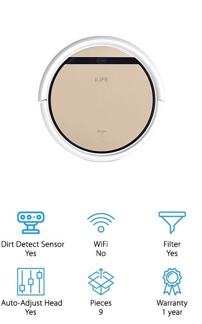 ILIFE V5s Vacuum Mop