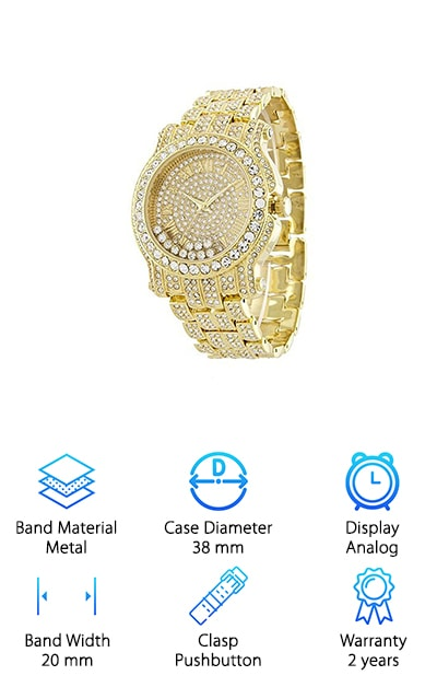 Xanadu Iced Out Watch