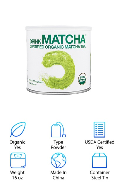 Drink Matcha Green Tea Powder