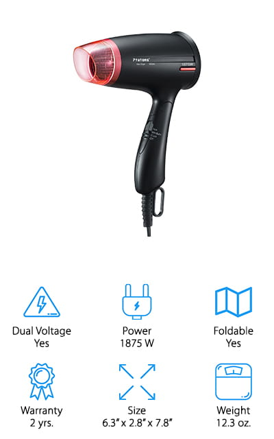 Ptatoms Ionic Blow Dryer