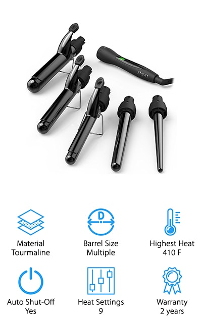 Xtava 5 in 1 Curling Iron