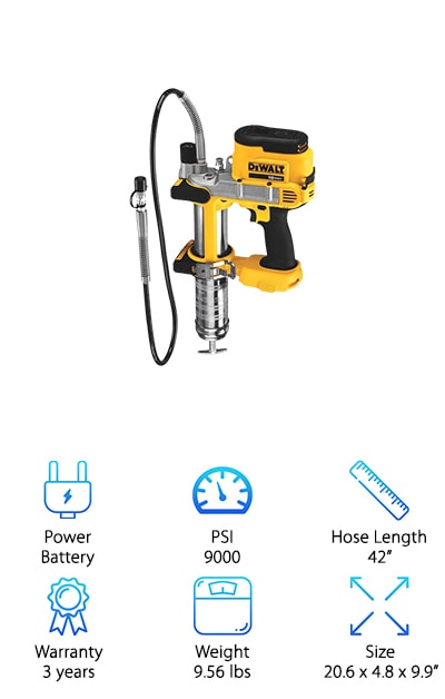 DEWALT DCGG570B Grease Gun