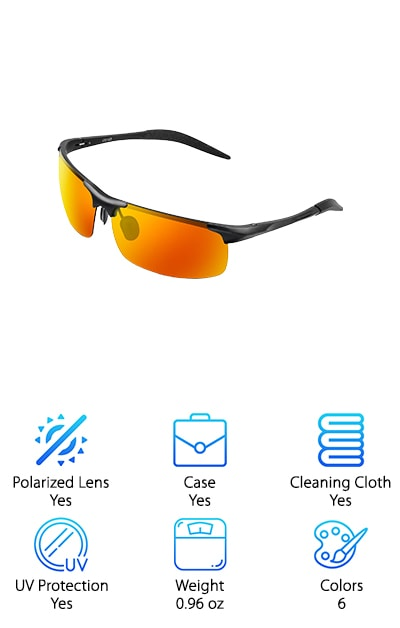 COSVER Sports Sunglasses