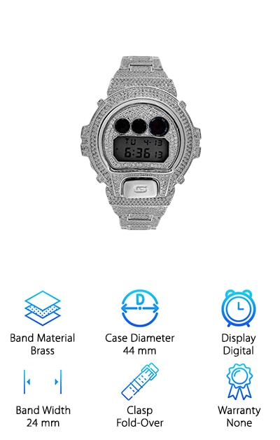 iRock Bling Casio Watch