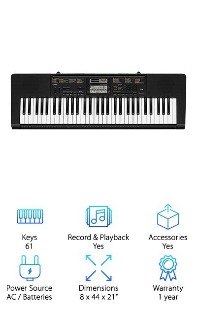 Casio CTK-2400 Keyboard Educational Package