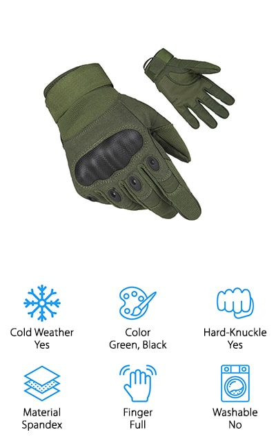 Fantastic Zone Tactical Gloves