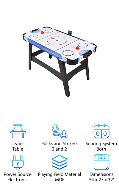 Goplus Air Powered Hockey Table