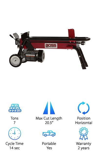Boss Electric Log Splitter