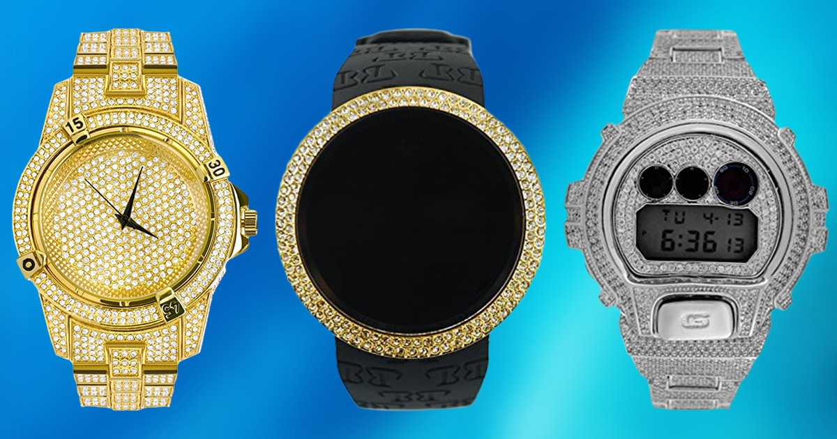 10 Best Iced Out Watches 2019 Buying Guide Geekwrapped