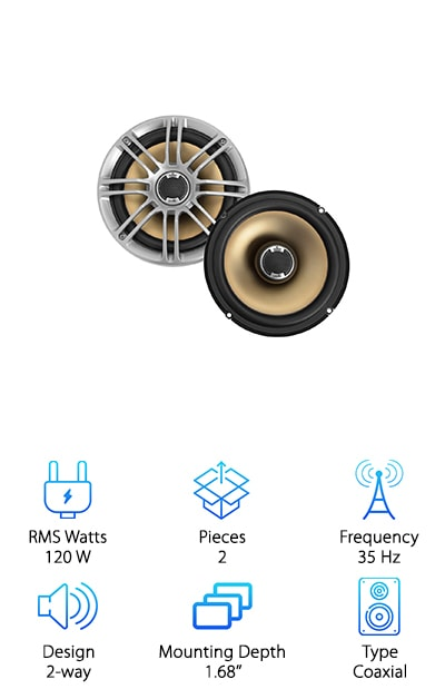 Best 6.5'' Speakers for Car Audio