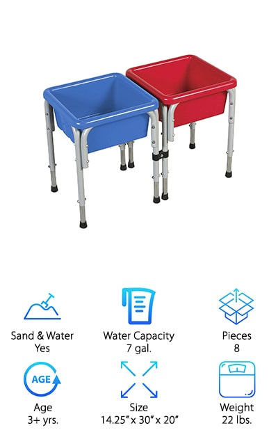 ECR4Kids Water Play Table