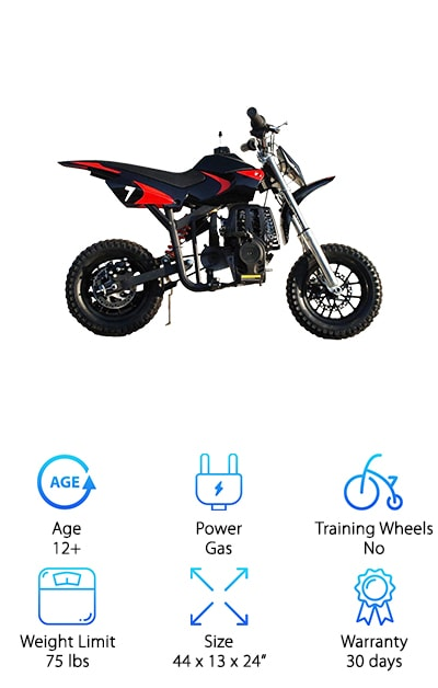 Starmax Kids Mini Dirt Bike
