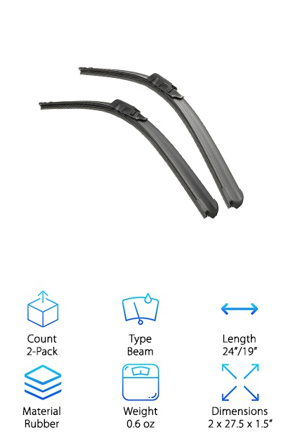 Bosch Wiper Blades Size Chart >> Bosch Wiper Blades Size Chart | Templates and Letters Corner