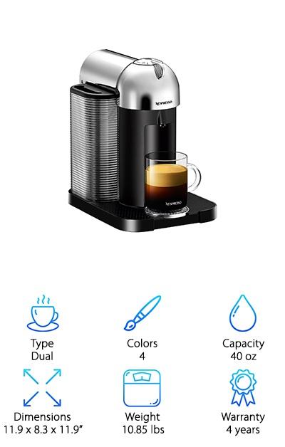 Nespresso Vertuo Chrome