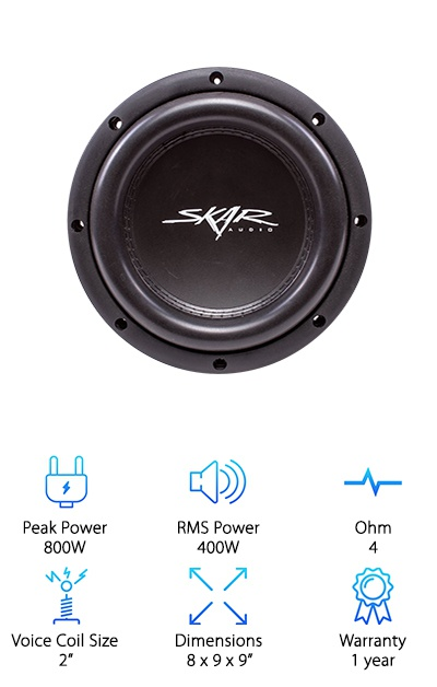 Skar Audio VVX-8v3 D4