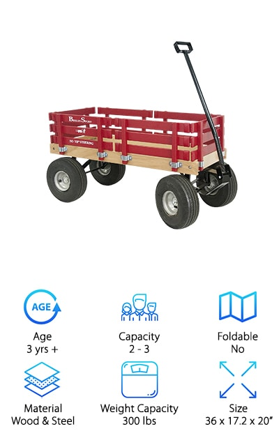 Berlin Red Wagon for Kids