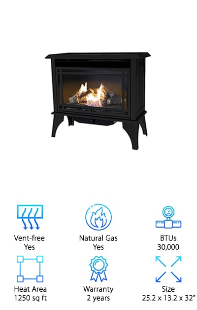 Comfort Glow Gas Stove