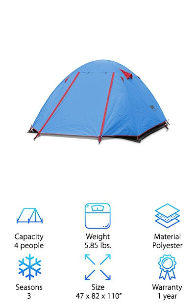 Weanas Pro Backpacking Tent