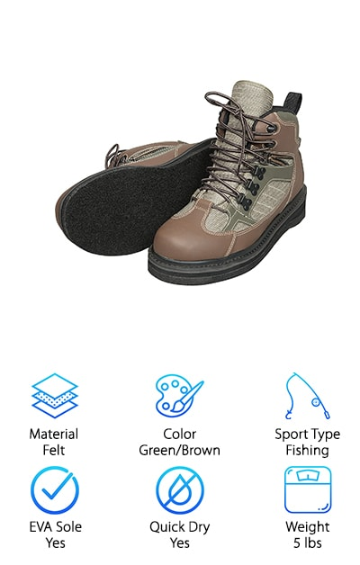 Allen Blue River Wading Boot