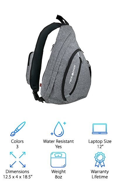 NeatPack Canvas Sling Backpack