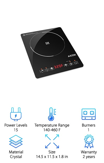 Aicok Portable Induction Cooktop