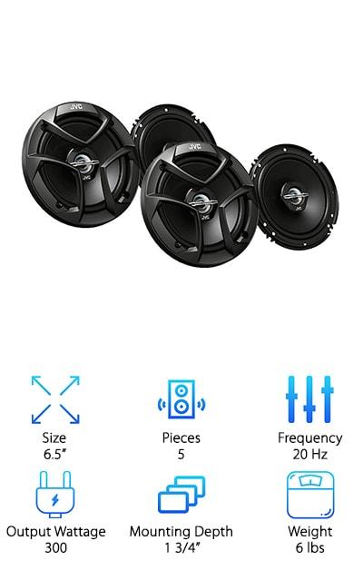 Pioneer DEH-150MP Speaker