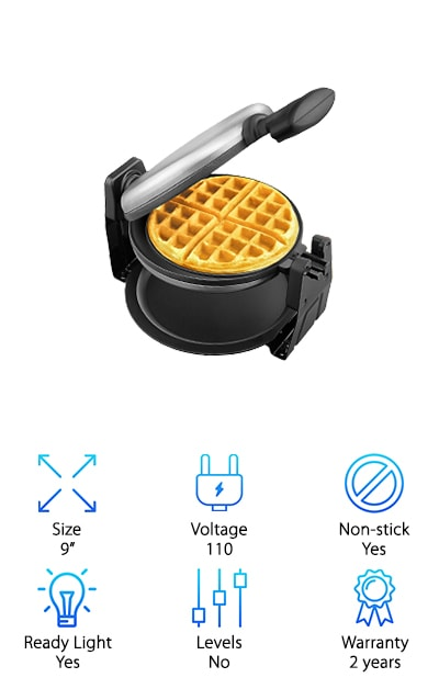 Aicok Waffle Maker