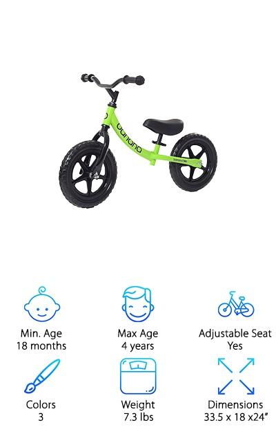 Banana Balance Bike for Kids