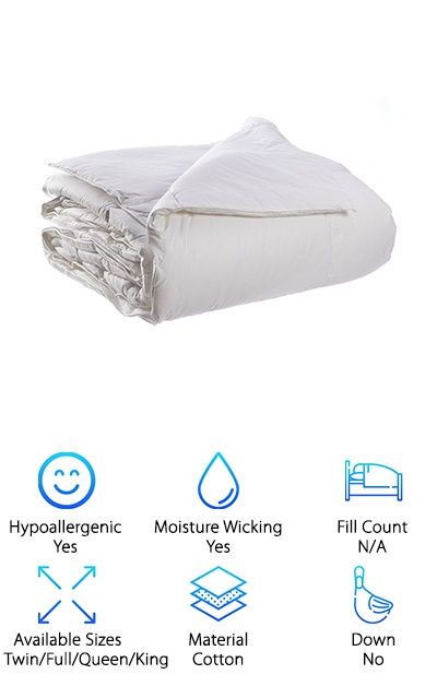 Temperature Regulating Comforter