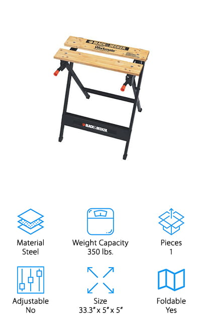 Black & Decker Workmate Sawhorse