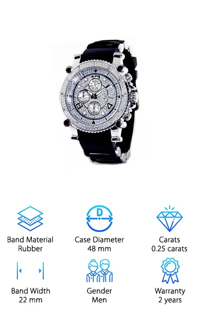 JOJINO Real Diamond Watch