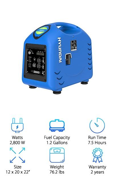 Hyundai HY2800si Inverter Generator