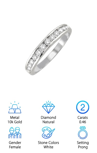 Szul Diamond Wedding Band