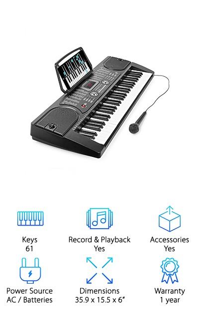 Hamzer Electronic Piano
