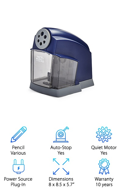 X-Acto SchoolPro Electric Sharpener