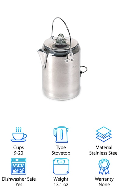 Stansport Aluminum Percolator