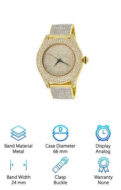 Diamond & Co. Iced Out Watch