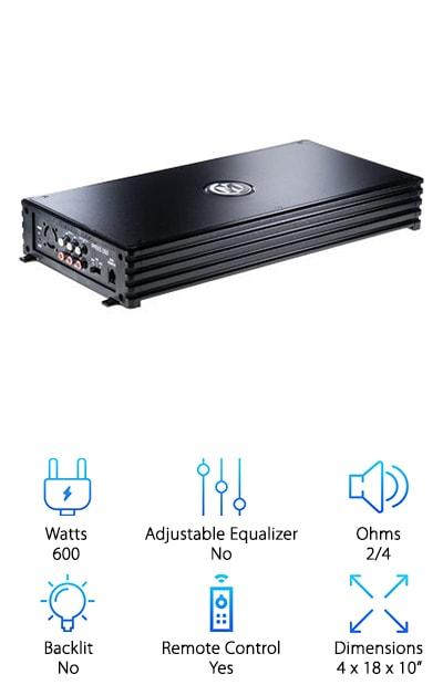 MEMPHIS 16-PRX5 5-Channel Amp