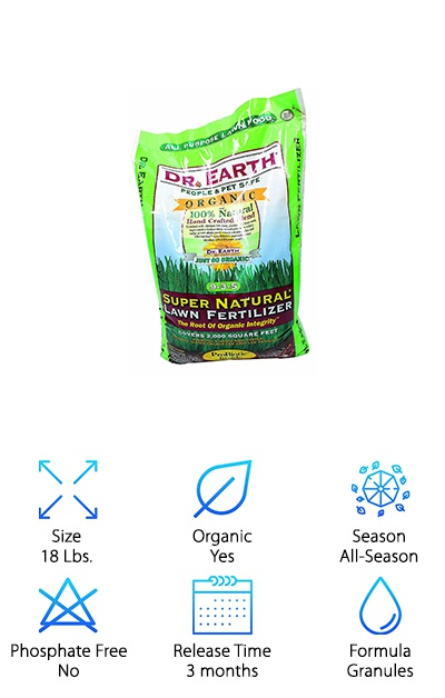 Dr. Earth 715 Lawn Fertilizer
