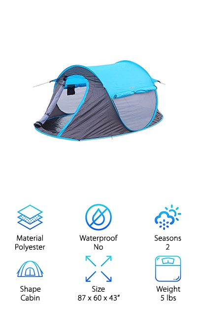 Northblu Pop Up Tent