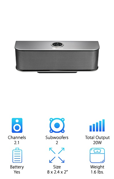 TaoTronics Bluetooth Speakers