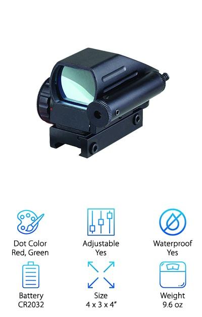 Ledsniper Holographic Laser Sight