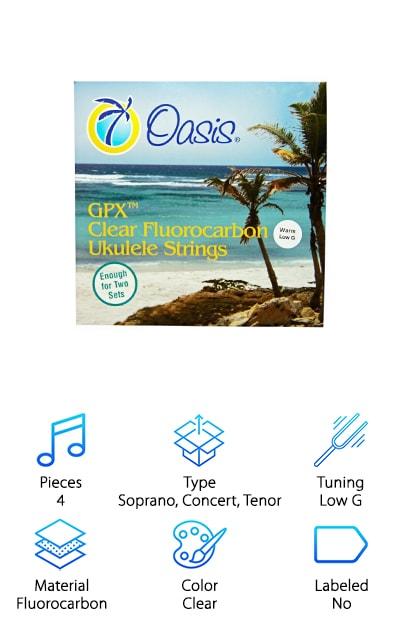 Oasis Warm Ukulele Strings