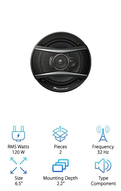 Pioneer TS-A1676R Speaker