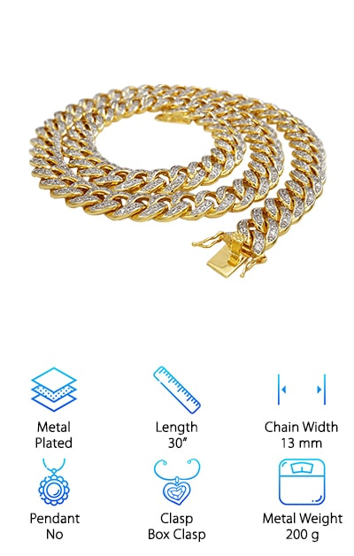 Niv's Bling Cuban Link Chain