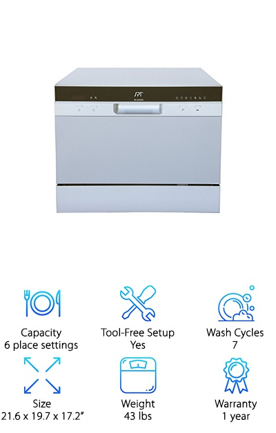 SPT SD-2224DS Dishwasher