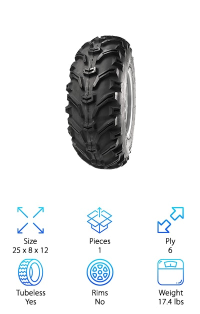 Kenda Bearclaw ATV Tire
