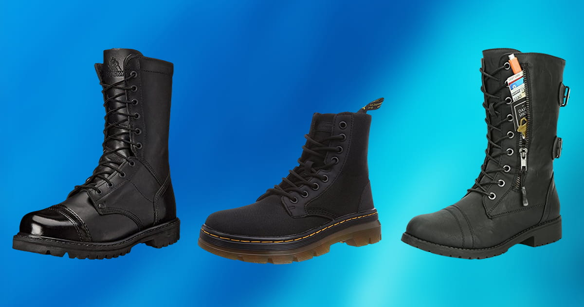 63671596595 10 Best Combat Boots 2019 [Buying Guide] – Geekwrapped